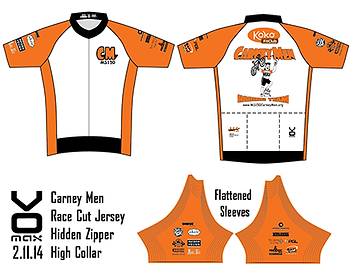 BP MS150 Carney Men Jersey