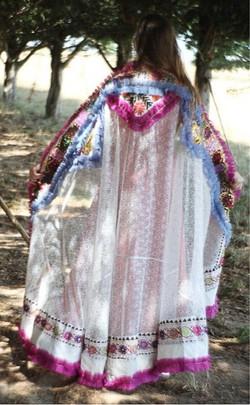 Incredible ethnic veil