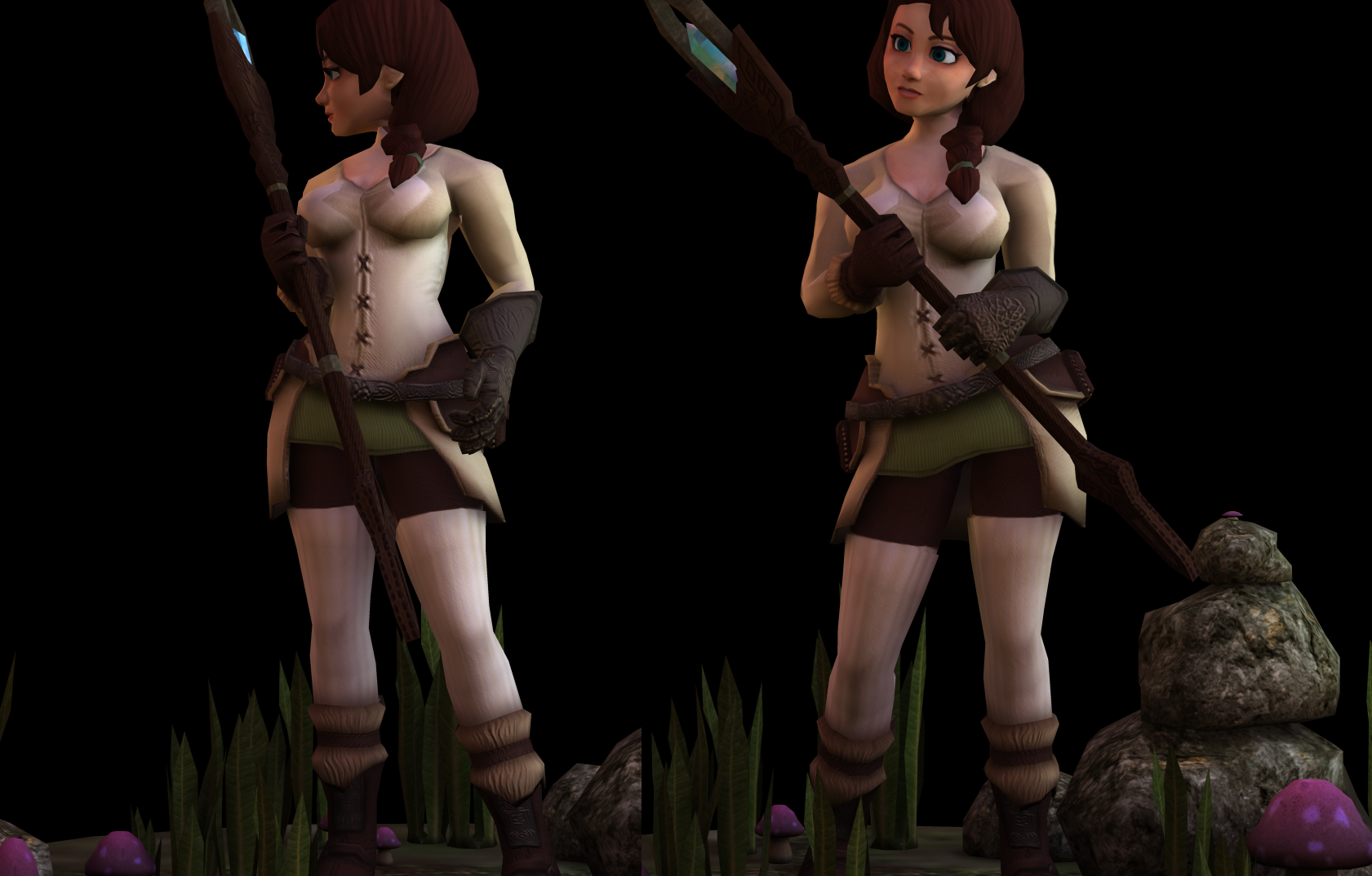Lowpoly Model - Renei