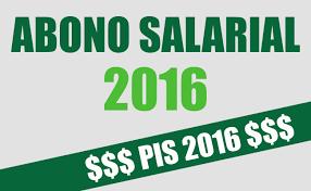 ABONO SALARIAL 2016