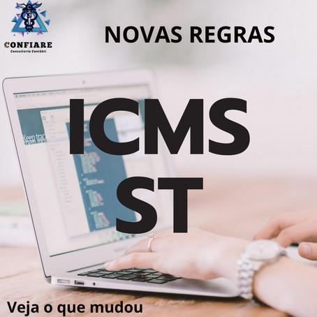 NOVAS ALTERAÇÕES ICMS SUBSTITUIÇÃO TRIBUTÁRIA