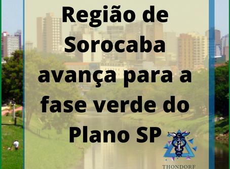 Região de Sorocaba avança para a fase verde do Plano SP