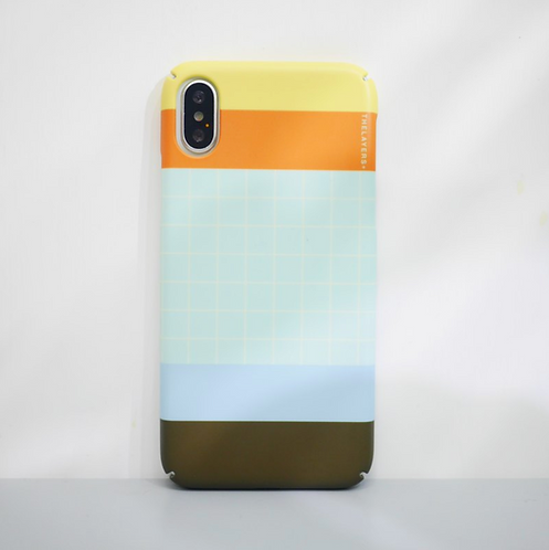 GRAPHIC PRINT - VIETNAM MATTE iPhone Case