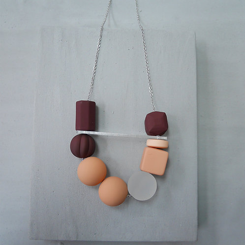 Marshmallow Necklace - PING PONG 006