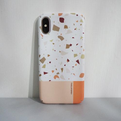 GRAPHIC PRINT - CHEWY TERRAZZO iPhone Case
