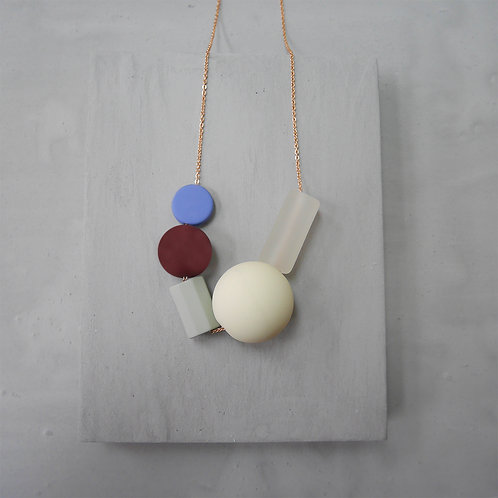 Marshmallow Necklace - PING PONG 004