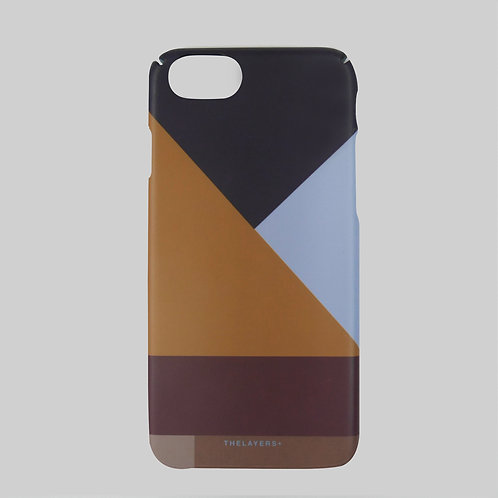 GRAPHIC PRINT - WORKER iPhone Case
