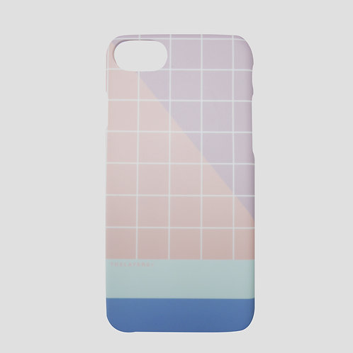 GRAPHIC PRINT - ROSY SEA MATTE iPhone Case