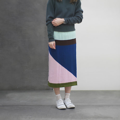 100+ Graphic Printed JULIUS A Line Knit Skirt