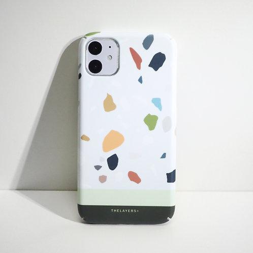 GRAPHIC PRINT - BRAVE TERRAZZO Phone Case