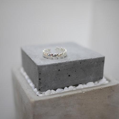 925 Sliver Floral Ring