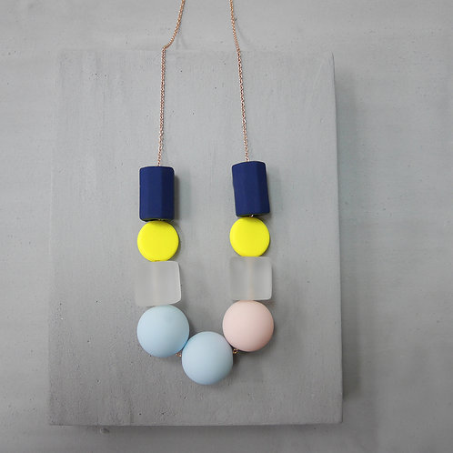 Marshmallow Necklace - PING PONG 005