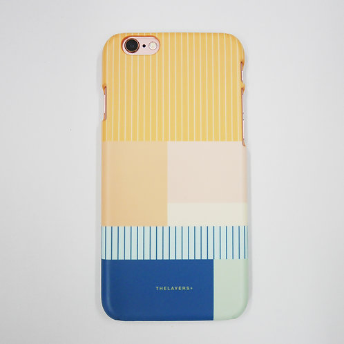 GRAPHIC PRINT - CANTALOUPE iPhone Case