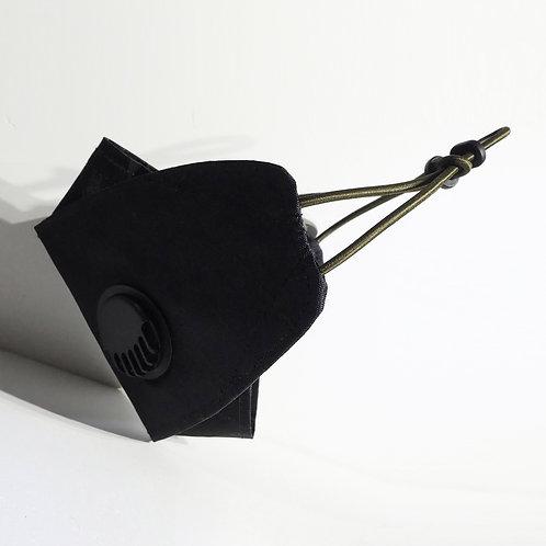 UN 3L XPAC94 | BLACK |  Reusable 3D Breathable KF94 Cloth Mask cover
