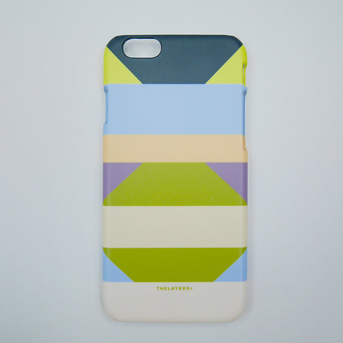 GRAPHIC PRINT - APPLE GREEN iPhone Case