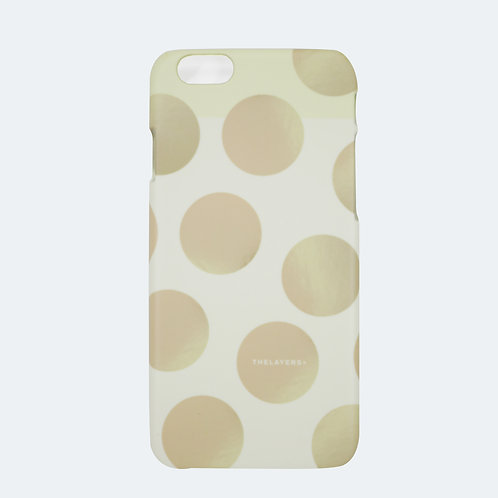 GRAPHIC PRINT - TAN iPhone Case