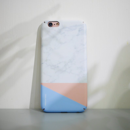 GRAPHIC PRINT - ALICE MARBLE MATTE iPhone Case