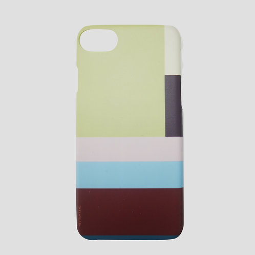 GRAPHIC PRINT - MODERATE OLIVE MATTE iPhone Case