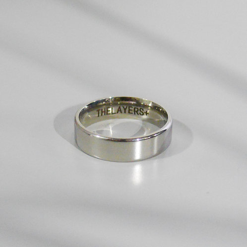 Personalized Engraving Minimal Ring