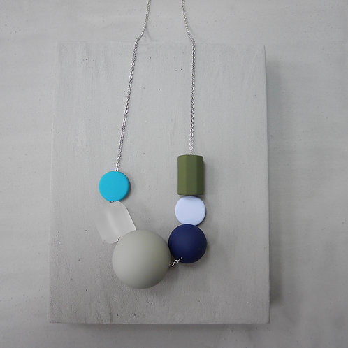 Marshmallow Necklace - PING PONG 003