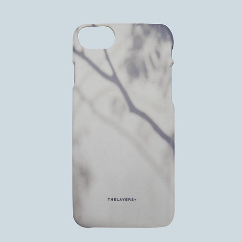 GRAPHIC PRINT - SHADOW OF TWIG iPhone Case