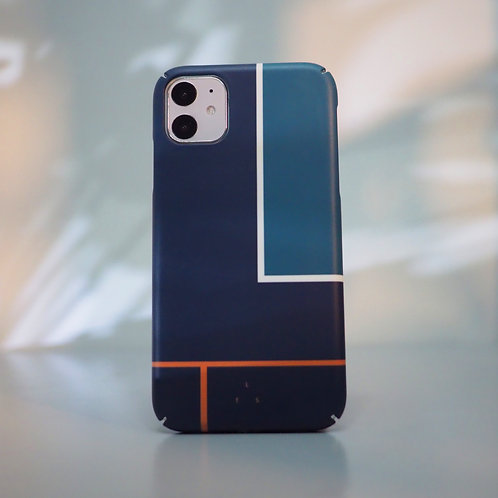 GRAPHIC PRINT - DENIM COURT Phone Case