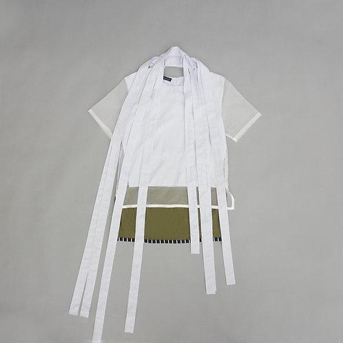 Ribbon Layered Sheer Top