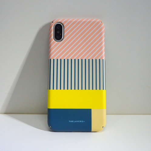 GRAPHIC PRINT - LEMON PINK iPhone Case