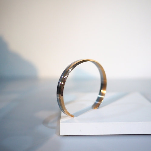 Two-Tone Personalized Engraving Cuff