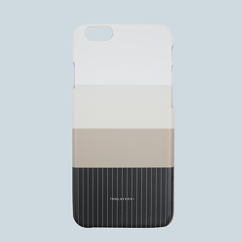 GRAPHIC PRINT - CHARCOAL iPhone Case