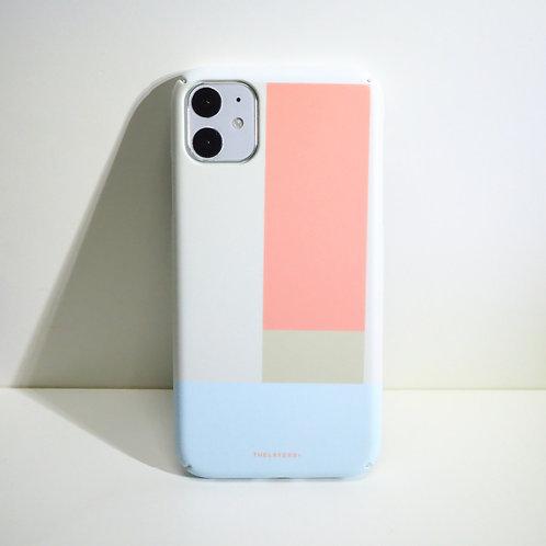 GRAPHIC PRINT - CREAMY LEMONADE iPhone Case