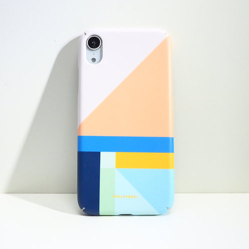 GRAPHIC PRINT - NUDY NAVY iPhone Case
