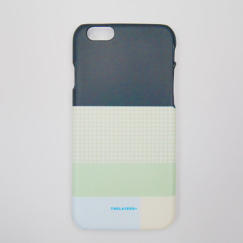 GRAPHIC PRINT - GRIDY MELON iPhone Case