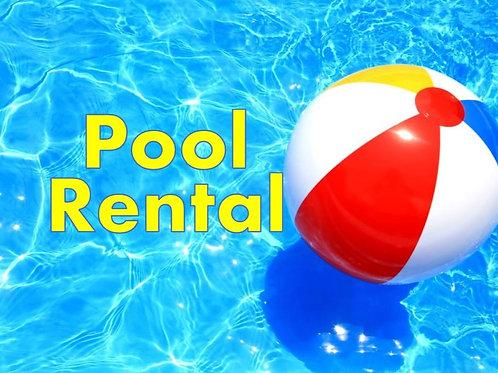 Private Pool Rental