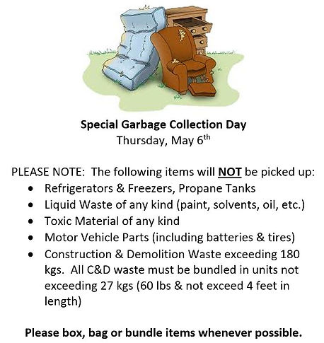 Special Garbage Collection Day.JPG