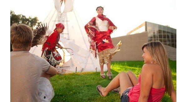 Metepenagiag Heritage Park Native Dancers