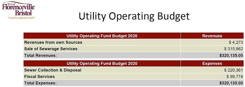 Budget 2020 Utility Operating Budget.JPG