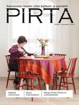 Pirta -magazine, 2018