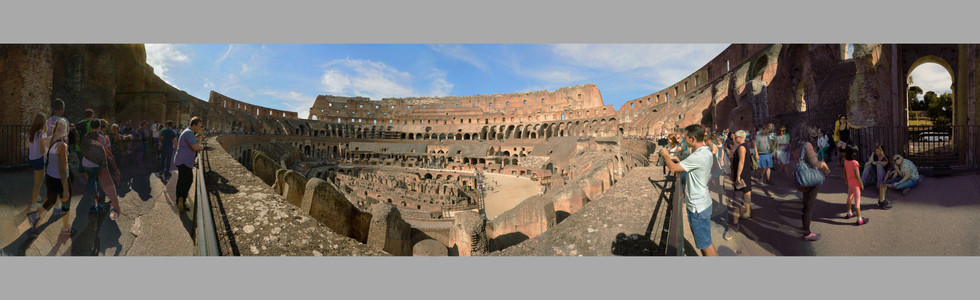 The Colosseum, Rome, Italy #3