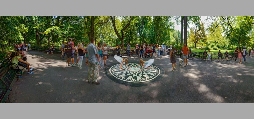 Strawberry Fields, Central Park, NYC