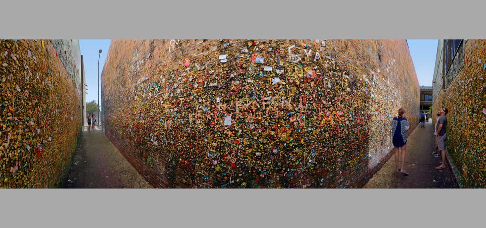 Bubblegum Wall, San Luis Obispo, Ca.