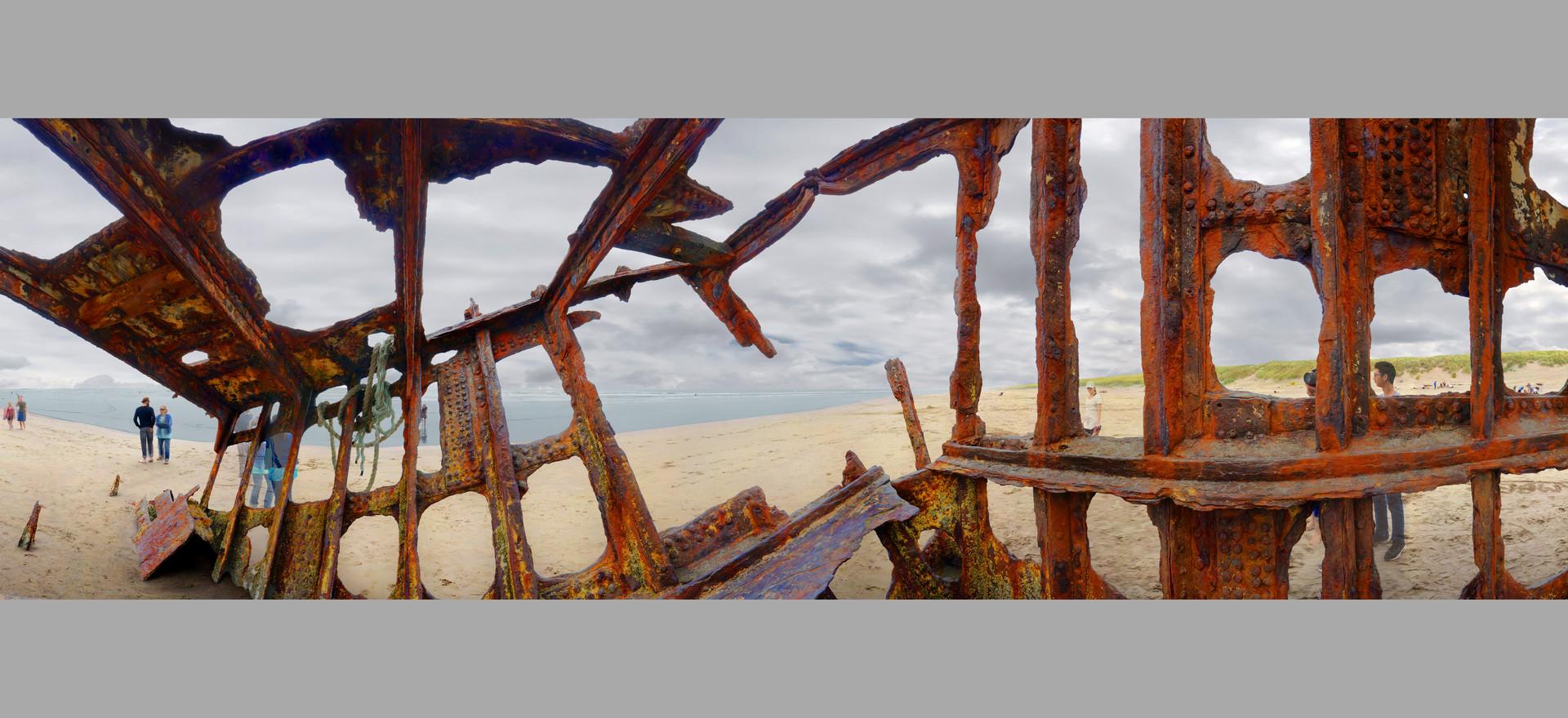 Shipwreck, Fort Stevens, Or