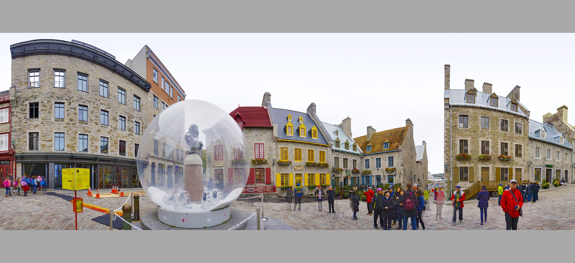 Snow Globe, Place Royal, Quebec