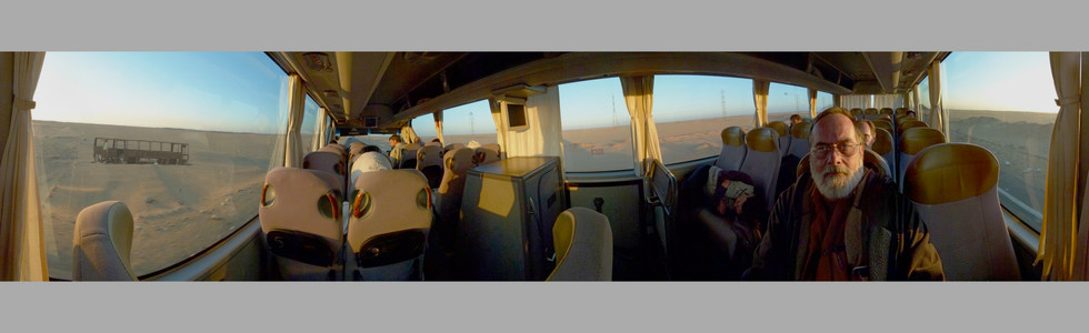 C05 Bus Ride To Abu Simbel, Egypt