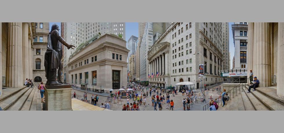 Wall Street Self Portrait, NYC