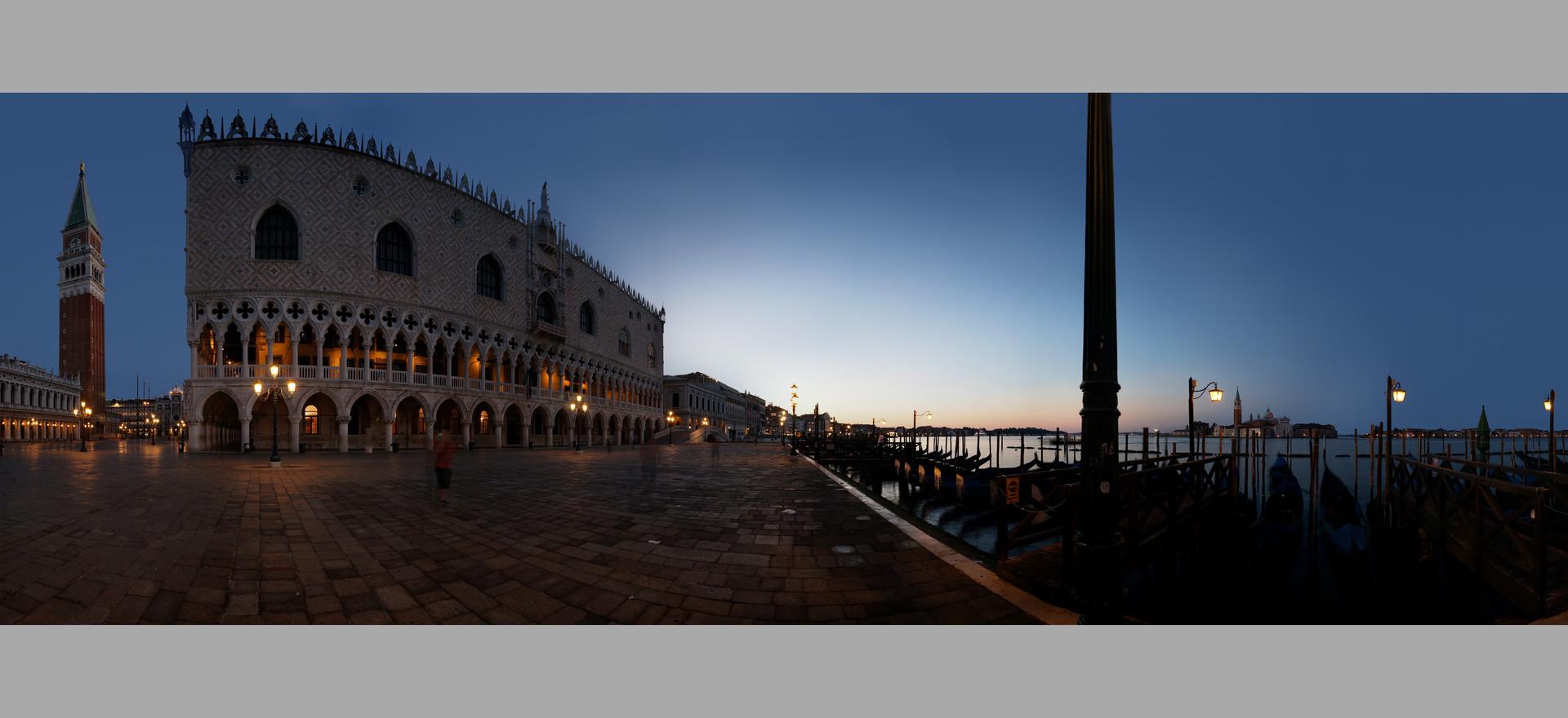 Sunrise in San Marco, Venice, Italy