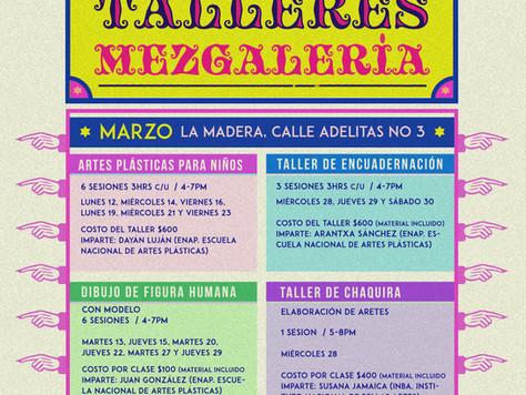 TALLERES DE ARTE EN MEZGALERÍA