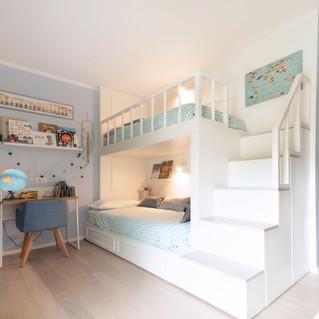 Chambre avec lits enfants sur-mesure