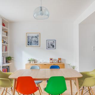 Rénovation appartement Orangerie, Strasbourg