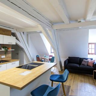 Rénovation appartement 3 piéces sous comble